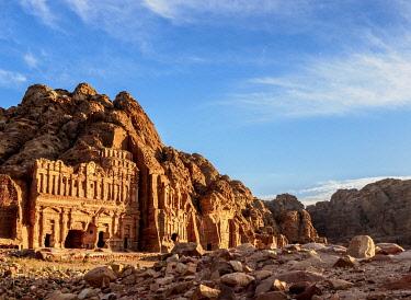 JOR0890AW Royal Tombs, Petra, Ma'an Governorate, Jordan