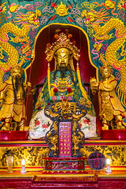 MY01334 Guan Di Temple, Chinatown, Kuala Lumpur, Malaysia