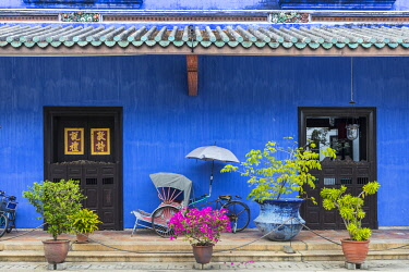 MY02345 Cheong Fatt Tze Mansion (Blue Mansion) & boutique hotel, George Town, Penang Island, Malaysia