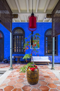 MY02348 Cheong Fatt Tze Mansion (Blue Mansion) & boutique hotel, George Town, Penang Island, Malaysia