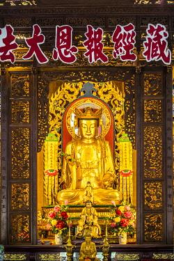 MY02375 Buddha at Kek Lok Si Temple, George Town, Penang Island, Malaysia