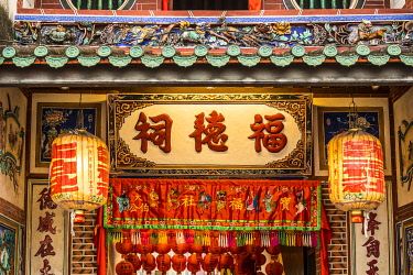 MY02415 Chinese Temple, George Town, Penang Island, Malaysia