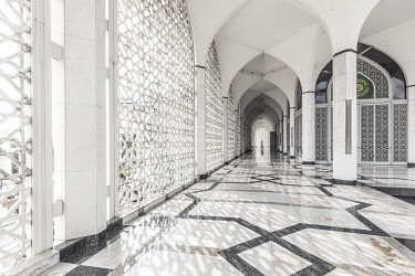 MY02445 State Mosque (Masjid Sultan Salahuddin Abdul Shah Mosque), Selangor, Nr. Kuala Lumpur, Malaysia