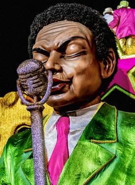 BRA3741AW Carnival Parade in Rio de Janeiro, Brazil