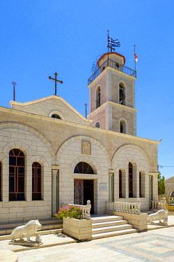 ISR0582AWRF Palestine, West Bank, Bethlehem Governorate, Beit Sahour. The Greek Orthodox Church (Deir Al Ra'wat) at Shepherd's Field.