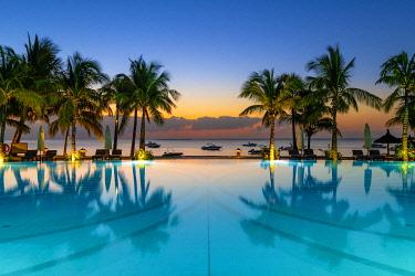 CLKAC103088 The Beachcomber Paradis Hotel, Le Morne Brabant Peninsula, Black River (Riviere Noire), Mauritius (PR)