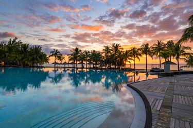 CLKAC103105 The Beachcomber Dinarobin Hotel, Le Morne Brabant Peninsula, Black River (Riviere Noire), Mauritius (PR)