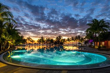 CLKAC103113 The Beachcomber Dinarobin Hotel, Le Morne Brabant Peninsula, Black River (Riviere Noire), Mauritius (PR)