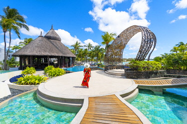 CLKAC103248 The Shangri-La Le Toussrok hotel, Trou d'Eau Douce, Flacq district, Mauritius, Africa (MR)