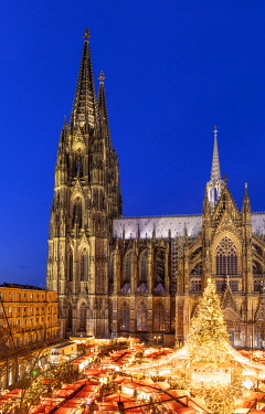 Cologne Christmas Market, Cologne, Germany