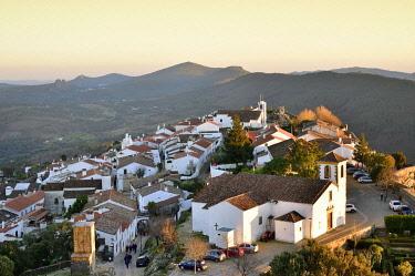 POR10211AW The 9th century village of Marvao with Arab origin. Portugal