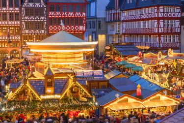 GER11594AW Frankfurt Christmas Market, Frankfurt am Main, Hesse, Germany