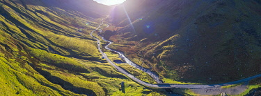 UK08420 UK, Cumbria, Lake District, Honister Pass