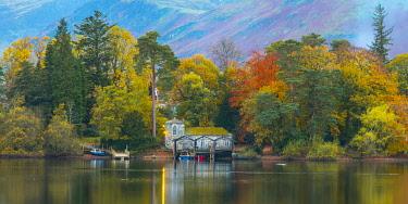 UK08421 UK, Cumbria, Lake District, Keswick, Derwentwater, Derwent Isle