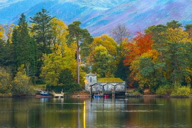 UK08422 UK, Cumbria, Lake District, Keswick, Derwentwater, Derwent Isle
