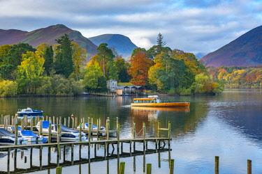 UK08426 UK, Cumbria, Lake District, Keswick, Derwentwater, Derwent Isle