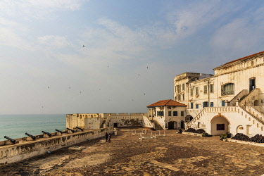 GHA0147AW Africa, Ghana, Cape Coast castle. The old english slave castle