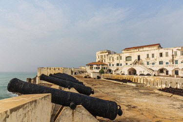 GHA0149AW Africa, Ghana, Cape Coast castle. The old english slave castle