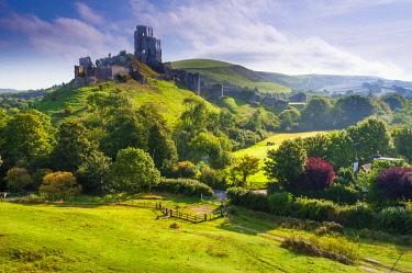 UK08463 UK, England, Dorset, Corfe Castle