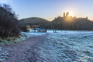 UK08471 UK, England, Dorset, Corfe Castle