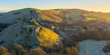 UK08472 UK, England, Dorset, Corfe Castle
