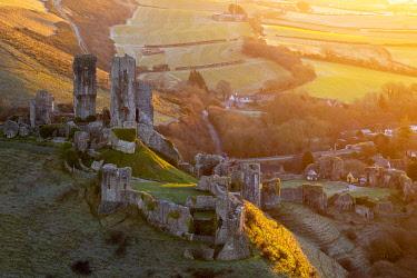 UK08475 UK, England, Dorset, Corfe Castle