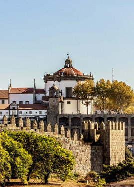 POR10360AW Monastery of Serra do Pilar, Vila Nova de Gaia, Porto, Portugal