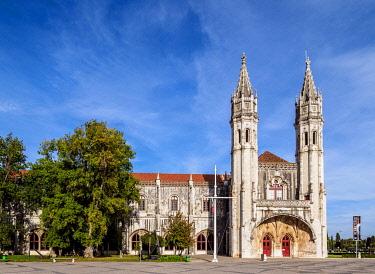 POR10442AW Jeronimos Monastery, Belem, Lisbon, Portugal