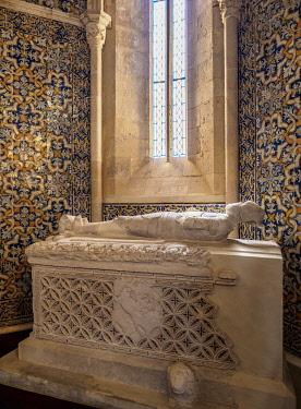 POR10483AW Se Cathedral, interior, Faro, Algarve, Portugal