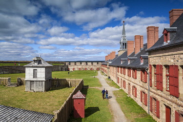 CA05050 Canada, Nova Scotia, Louisbourg, Fortress of Louisbourg National Historic Park, Kings Bastion Barracks