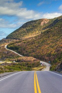 CA05146 Canada, Nova Scotia, Cabot Trail, Cheticamp, Cape Breton Highlands National Park, coastal highway 6
