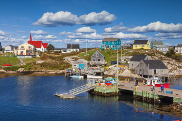 CA05155 Canada, Nova Scotia, Peggy's Cove,  fishing village on the Atlantic Coast