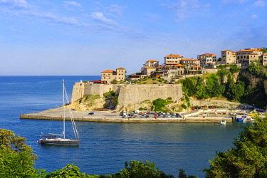 IBXMAN04800754 Old town, Ulcinj, Adriatic coast, Montenegro, Europe