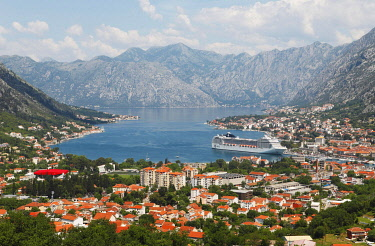 IBLCXB04806336 Kotor and the Bay of Kotor, Kotor Province, Montenegro, Europe