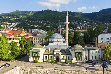 IBLGAB04801625 Emperor's Mosque, built in 15th century, Sarajevo, Bosnia and Herzegovina, Europe