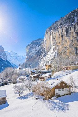 SWI8333AW Lauterbrunnen, Berner Oberland, canton of Bern, Switzerland