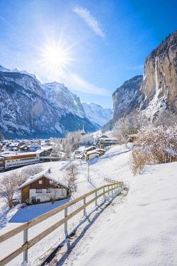 SWI8279AW Lauterbrunnen, Berner Oberland, canton of Bern, Switzerland