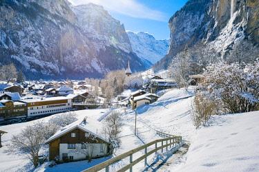 SWI8280AW Lauterbrunnen, Berner Oberland, canton of Bern, Switzerland