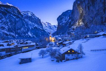 SWI8338AW Lauterbrunnen, Berner Oberland, canton of Bern, Switzerland