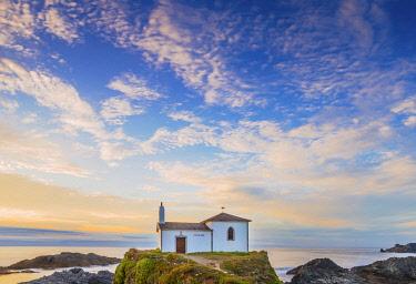 SPA8859AW Spain, Galicia, LA Coruna, Meiras, Hermitage of Virgen del Puerto