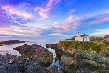 SPA8861AW Spain, Galicia, LA Coruna, Meiras, Hermitage of Virgen del Puerto