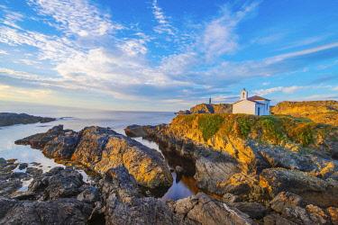 SPA8855AW Spain, Galicia, La Coruna, Meiras, Hermitage of Virgen del Puerto