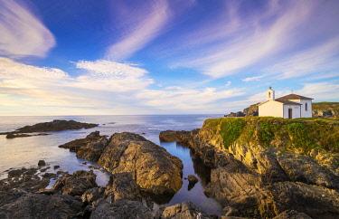 SPA8858AW Spain, Galicia, La Coruna, Meiras, Hermitage of Virgen del Puerto