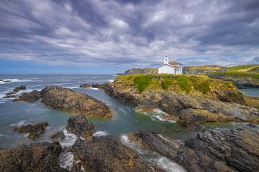 SPA8710AWRF Spain, Galicia, LA Coruna, Meiras, Hermitage of Virgen del Puerto