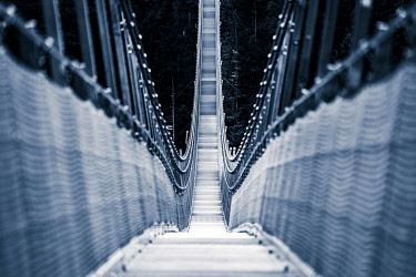 IBXSEI04802104 Suspension bridge Highline 179 Reutte, Tyrol, Austria, Europe
