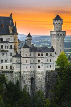 CLKST96402 Neuschwanstein Castle, Fussen, Bayern, Germany