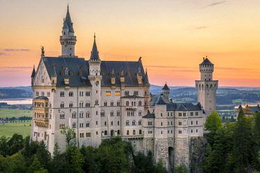 CLKST96403 Neuschwanstein Castle, Fussen, Bayern, Germany