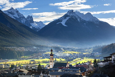 CLKSS99963 Fulpmes in Tyrol in Stubai valley. Europe, Austria, Stubaital, Stubai valley, Fulpmes, Tyrol, Innsbruck province