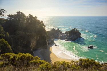 CLKST104619 Pacific coast near Monterey and Big Sur, California, USA