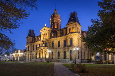 CA06124 Canada, New Brunswick, Central New Brunswick, Fredericton,  Legislative Building, New Brunswick Provincial Legislature